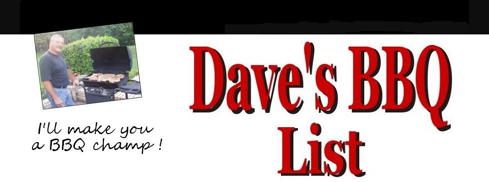 Daves BBQ List